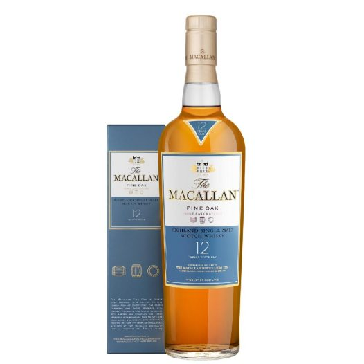 Botella de Whisky Macallan 12 Yo Fine Oak Box 40%