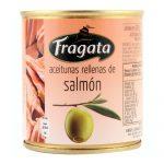 Lata de Aceitunas Rellenas de Salmon 85/200 Grs Marca Fragata