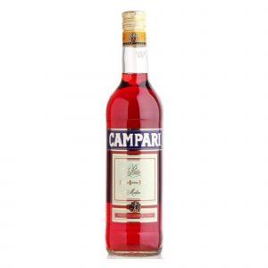 Botella de Licor de Hierbas Aperitivo Campari