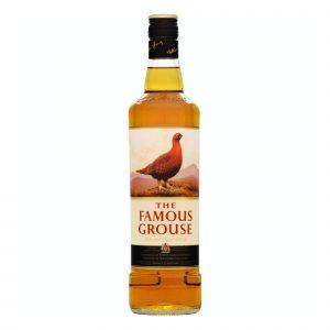 Botella de Whisky Famous Grouse