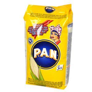 Harina PAN Maíz Blanco 5 Libras (2.26 KG)