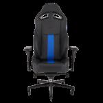 Silla Gaming Corsair T2 Road Warrior Color Negro con Azul