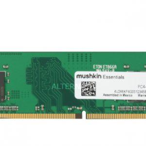 Memoria RAM DDR4 Marca Mushkin de 4GB para Desktop de 2666Mhz