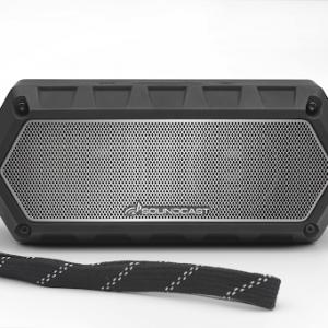 Bocina Bluetooth Soundcast VG1 Color Negro/Plateado
