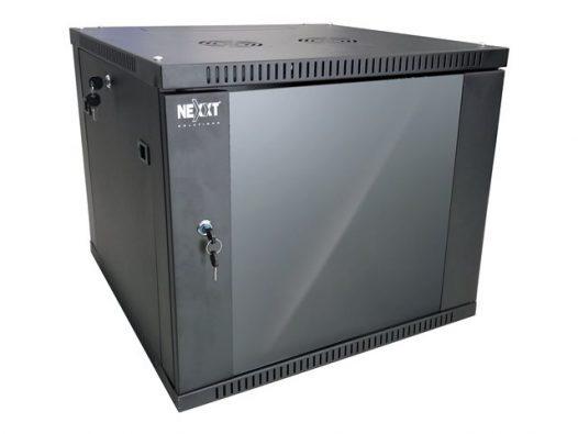 Gabinete de pared fijo y semi-ensamblado - 12U - An600mm Pr450mm