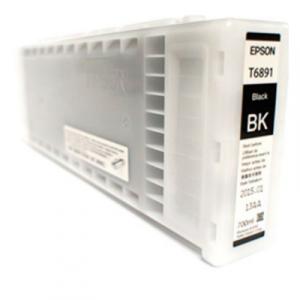 Cartucho para Plotter Epson UltraChrome GS2 Color Negro T68100