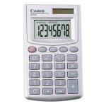 Calculadora Básica Canon LS-270H Color Gris