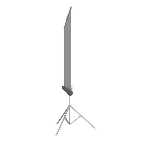 "Pantalla de Proyección de 86"" con Tripode marco Blanco marca Klip Xtreme"
