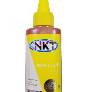 Botella de Tinta NKT de 100ML Color Amarillo (Refill)