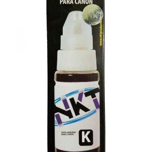 Botella de Tinta NKT de 70ML Para Canon Color Negro (Refill)