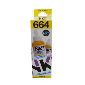 Botella de Tinta NKT de 100ML Para Epson Color Amarillo (Refill)