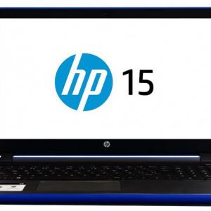 """Laptop  HP Pavilion AMD A8 7410 2.2GHz 8GB 1TB 15.6"""" Win10 H Color Azul Cobalto"""