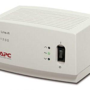 Regulador de Voltaje APC 1200VA de 4 Tomas