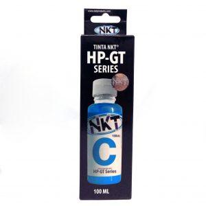 Botella de Tinta NKT de 100ML Para HP Serie GT Color Cian (Refill)