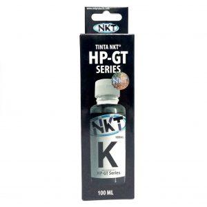 Botella de Tinta NKT de 100ML Para HP Serie GT Color Negro (Refill)