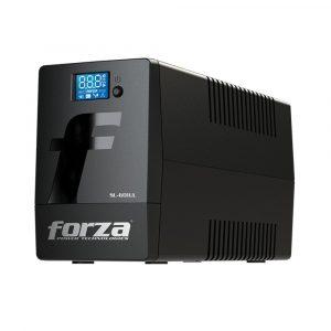 UPS Interactivo de 600VA con Pantalla LCD Táctil marca Forza