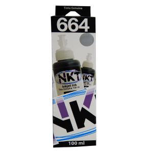Botella de Tinta NKT de 100ML Para Epson Color Negro (Refill)