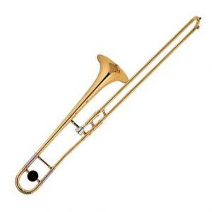Trombón Vivaldi alto dorado