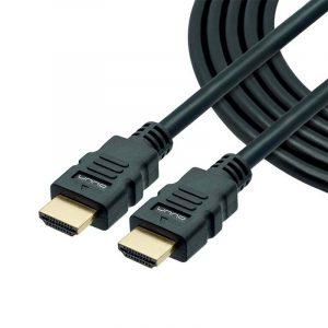 Cable HDMI de Alta Definición, Unno Tekno, 4CB4125BK