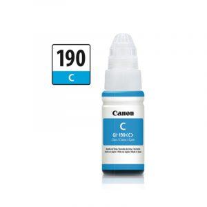 Botella de Tinta Canon GI-190 Cyan (Refill)