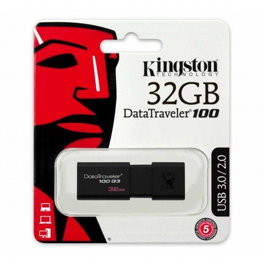 Memoria USB Kingston DT100G3/32GB