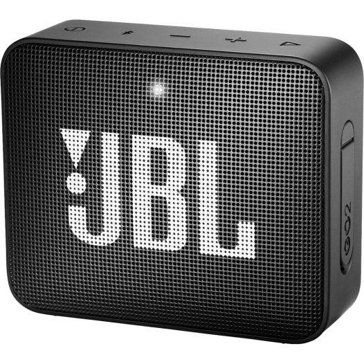 Bocina Bluetooth JBL Go 2 Resistente al Agua color Negro 3W