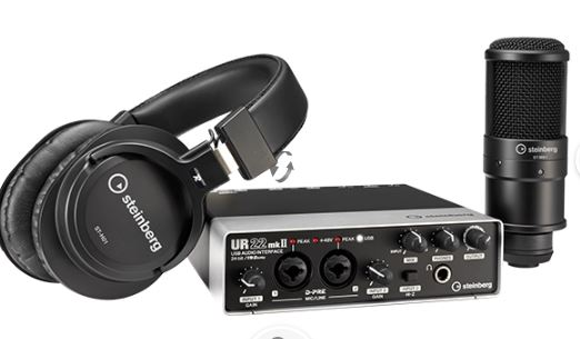 Kit de Interfaz de Audio UR22MKII