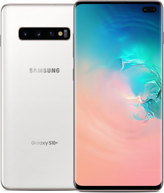 Celular Samsung Galaxy S10+ 8GB RAM 128GB 6.4″ Color Blanco Clásico