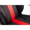 Silla Gaming CORSAIR T2 Road Warrior Color Negro con Rojo