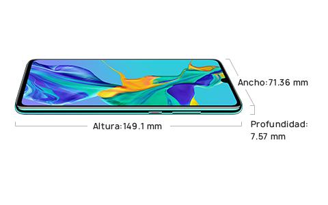 "Celular Huawei P30 6GB RAM 128GB 6.1"" 40Mgplxs y 32 Mgplxs Color Negro Dual SIM"
