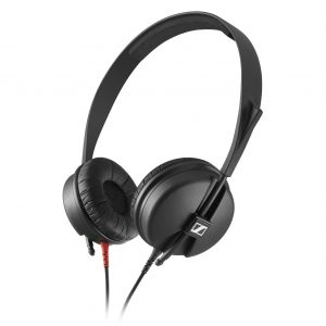 Audifonos Profesionales On Ear para DJ y Monitoreo marca Sennheiser HD25 Light color Negro