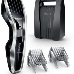 Corta Cabello Marca Philips serie 5000 Titanium-recargable 24 posiciones doble voltaje HC5450/80
