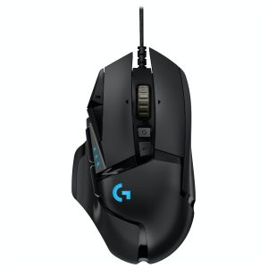 Mouse Gaming G502 Hero 16000 DPI marca Logitech color Negro