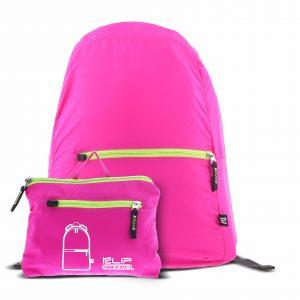 """Mochila para Laptop Plegable Klip Xtreme Lite Pack de 14"""" Color Rosado"""