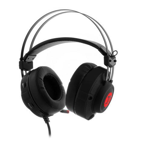 Audifonos Alámbricos Primus Gaming ARCUS 150T Color Negro