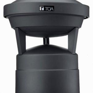 Bocina para Exterior de 30 W (Jardines o Parques Temáticos) TOA GS-302 Color Negro
