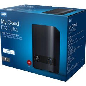 Nube personal marca Western Digital de 4TB de 2 compartimientos