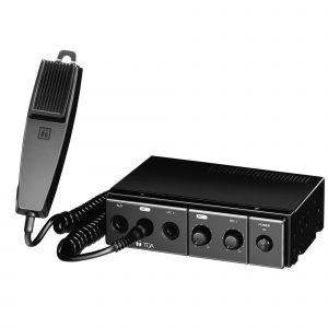Amplificador de Audio de 30W para Vehículos TOA CA-130 Color Negro