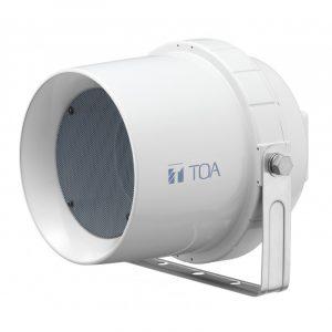 Bocina para exterior a prueba de agua TOA CS-64 color blanco