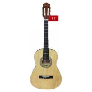 Guitarra Classica Valenciana 34'' Natural C/ Funda