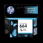 Cartucho HP 664 Color