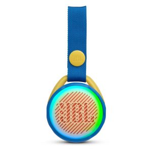 Bocina Bluetooth JBL JR POP Bluetooth 3W Color Azul Luces LED colores