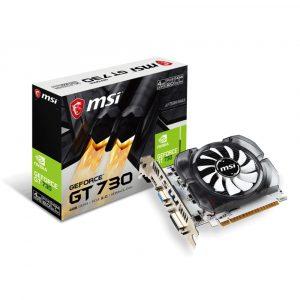Tarjeta de Vídeo 4GB DDR3 MSI GeForce GT 730