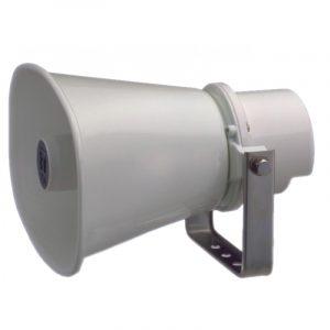 Bocina Tipo Trompeta para Instalación de 15W y 8 Ω – Marca TOA SC-615 Color Hueso