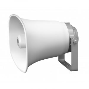 Bocina Tipo Trompeta para Instalación de 50W y 16 Ω – Marca TOA SC-651 Color Hueso