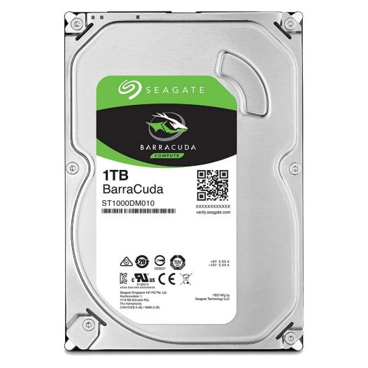 "Disco Duro Interno Para Desktop 1TB 3.5"" Seagate Barracuda"