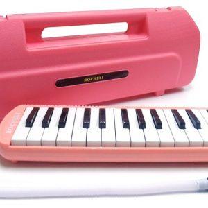Melódica Bocheli de 32 Notas Color Rosa