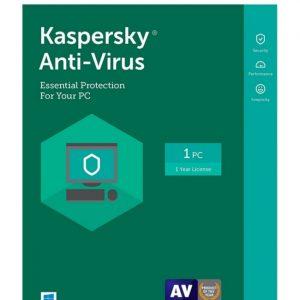 Antivirus Kaspersky para 1 Usuario por 1 Año