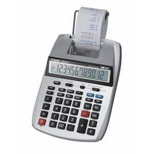 Calculadora con Impresión Canon P23-DH V-2 HWB (120V) Color Gris