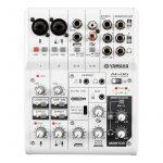 Mezcladora de 6 canales con interfaz de audio USB - Marca Yamaha AG06 - Color Blanco